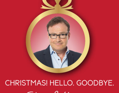 Christmas! Hello. Goodbye.