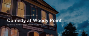 Comedy at Woody Point