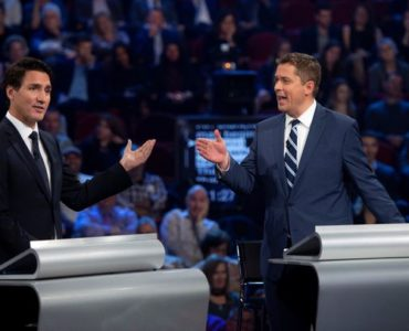 The federal leaders' debate was historically ridiculous